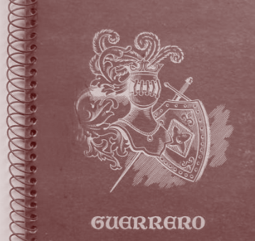 Cuaderno cuadriculado Guerrero