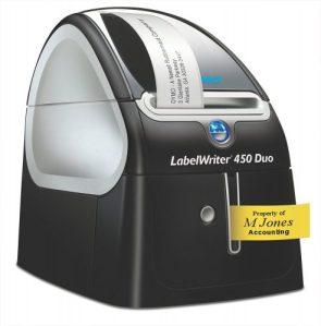 Impresora de etiquetas LabelWriter Duo de Dymo