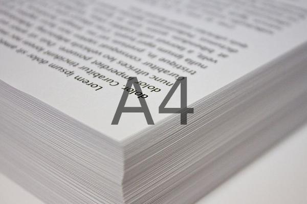 Formato papel A4