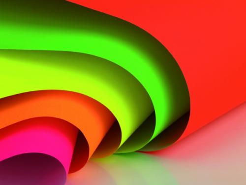 Papel fluorescente