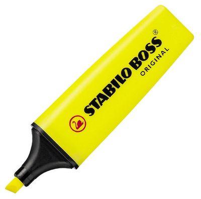 Marcador Stabilo Boss Amarillo