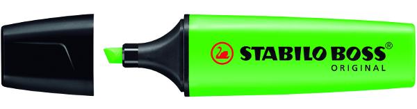 Tipos de marcadores: el de punta biselada