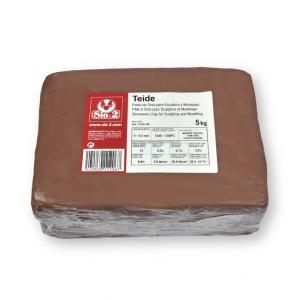 Pastas de arcilla Sio-2 Teide Terracota
