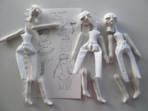 Muñecas de arcilla líquida Flumo