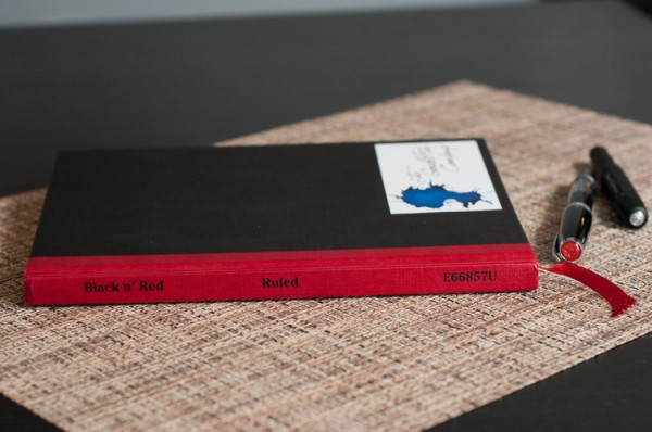 Tipos de cuadernos: Oxford Black n'Red