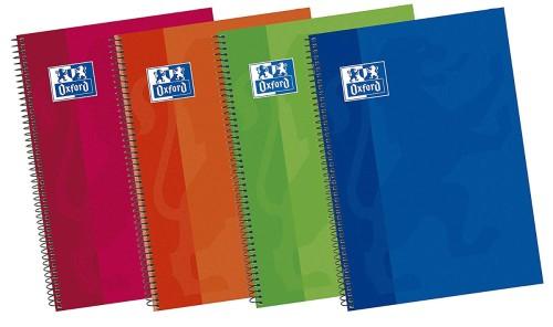 Tipos de cuadernos: Oxford clasicos