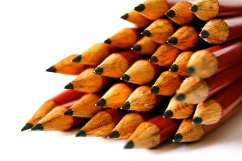 Lápices de grafito
