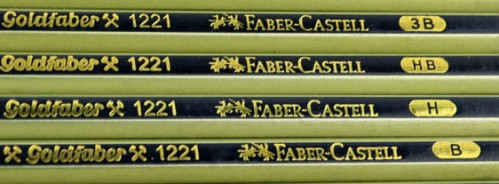 Lápices de grafito Goldfaber 1221