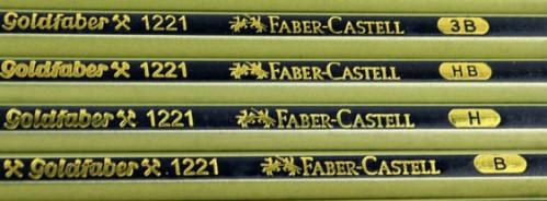 Lápices de grafito Goldfaber 1221