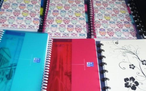 Tipos de cuadernos Oxford: uso personal