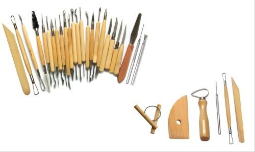 Herramientas para modelar plastilina