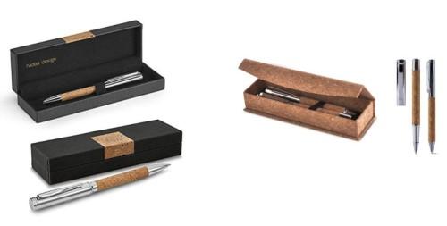 Bolígrafos de corcho