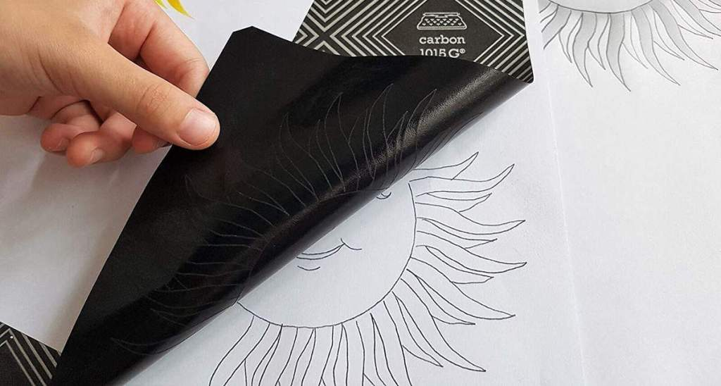 papel calco o papel carbón
