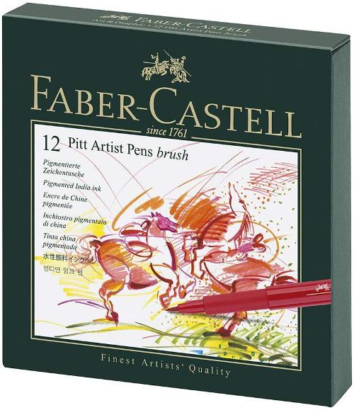 rotuladores faber-castell pitt con pincel